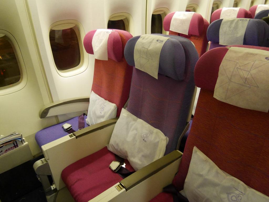 タイ航空座席