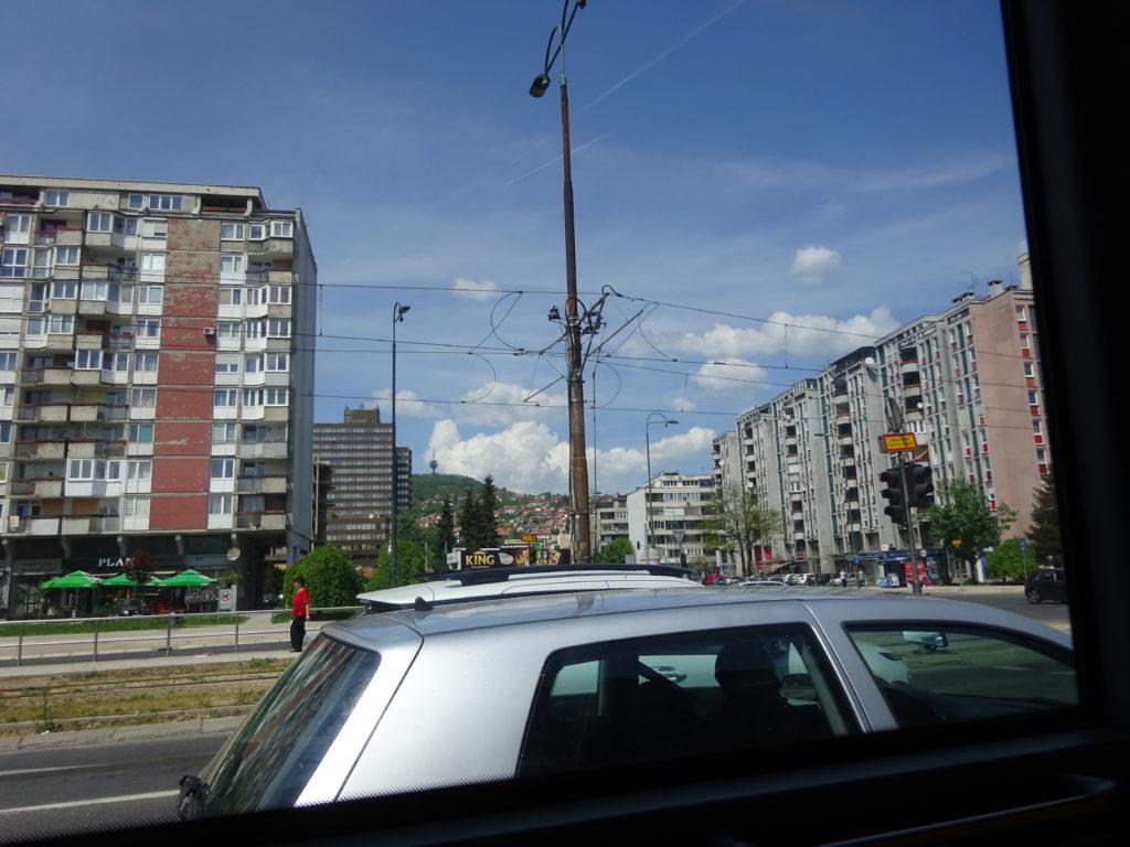 サラエボ新市街街並み