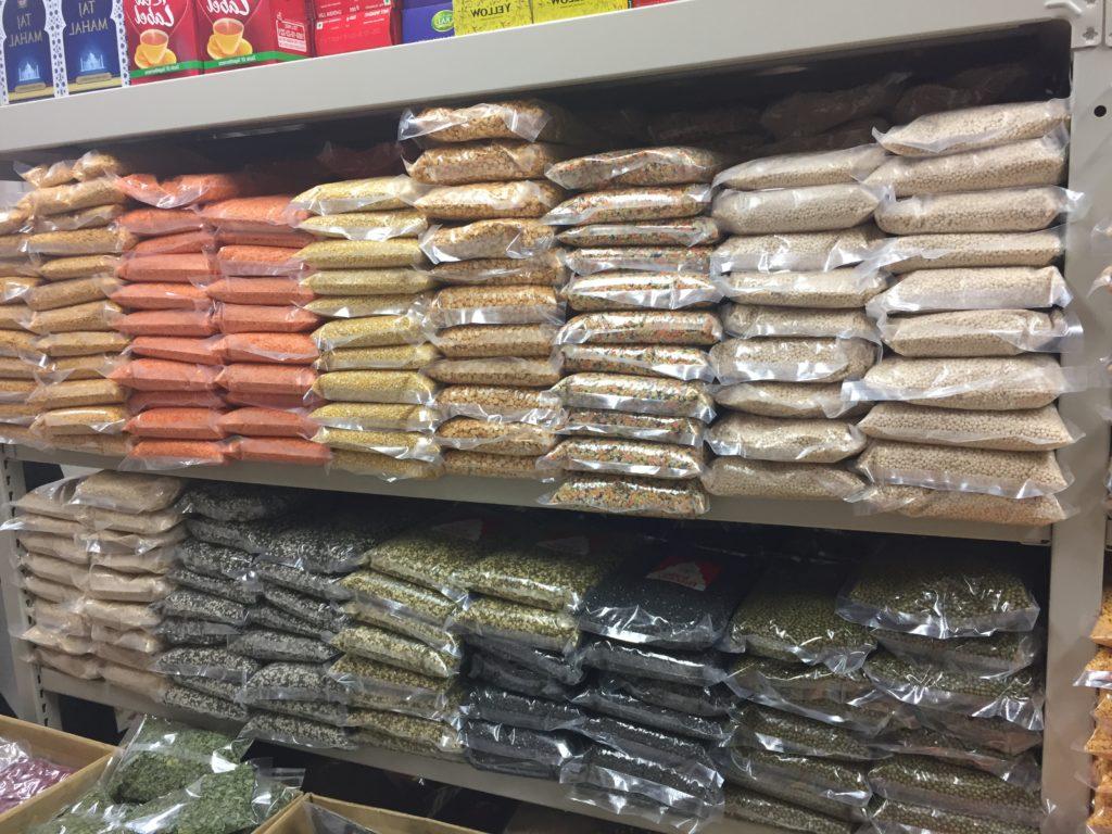 インドバザール豆の棚