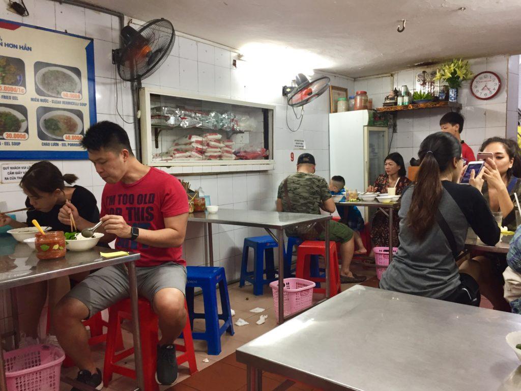 Nhà Hàng Miến Lươn ĐÔNG THỊNHの店内